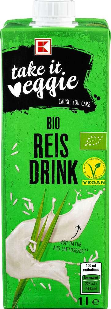 Abbildung des Sortimentsartikels K-Take it Veggie Reisdrink 1,0l