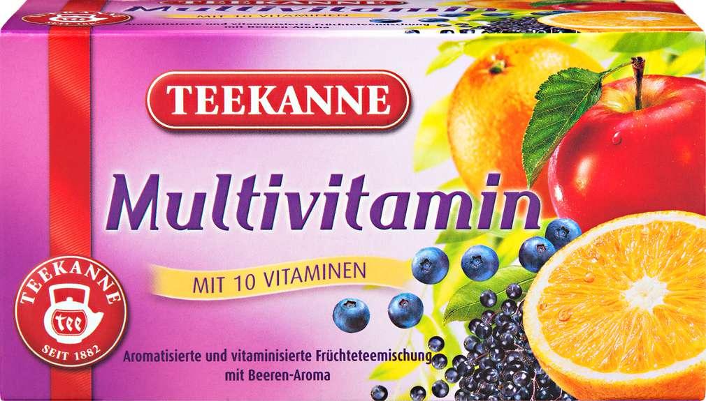 Abbildung des Sortimentsartikels Teekanne Multivitamin 20x3g