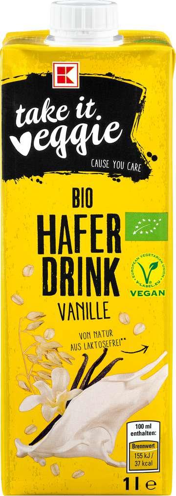 Abbildung des Sortimentsartikels K-Take it Veggie Haferdrink Vanille 1,0l