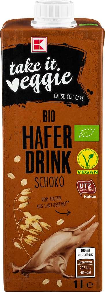 Abbildung des Sortimentsartikels K-Take it Veggie Haferdrink Schokolade 1,0l