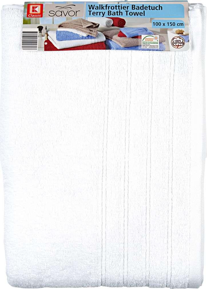 Abbildung des Sortimentsartikels Liv & Bo Badetuch Weiß ca. 100x150cm