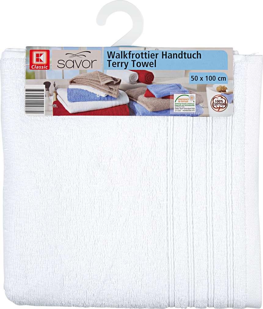 Abbildung des Sortimentsartikels Liv & Bo Handtuch Weiß ca. 50x100 cm