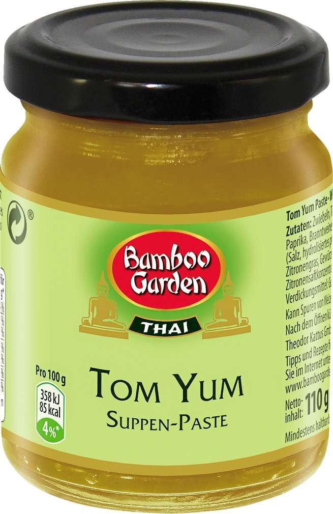 Abbildung des Sortimentsartikels Bamboo Garden Suppen-Paste Tom Yum 110g