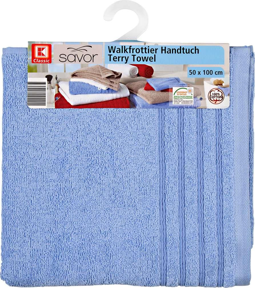 Abbildung des Sortimentsartikels Liv & Bo Handtuch Blau ca. 50x100 cm