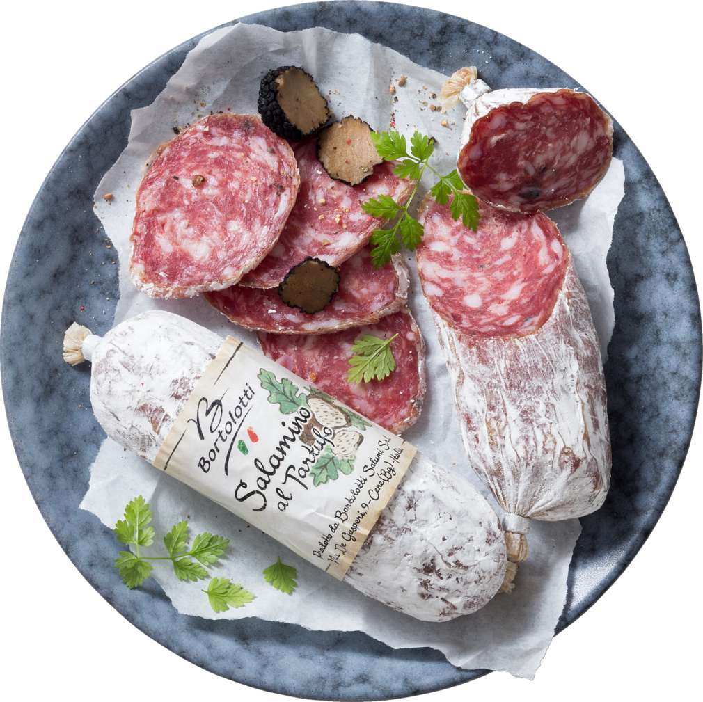 Abbildung des Sortimentsartikels Bortolotti Italienische Salami mit Trüffel Bortolotti 1000g
