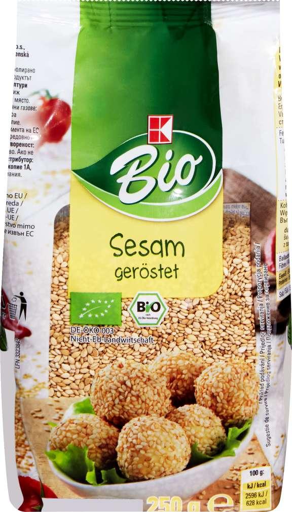 Abbildung des Sortimentsartikels K-Bio Sesam geröstet 250g