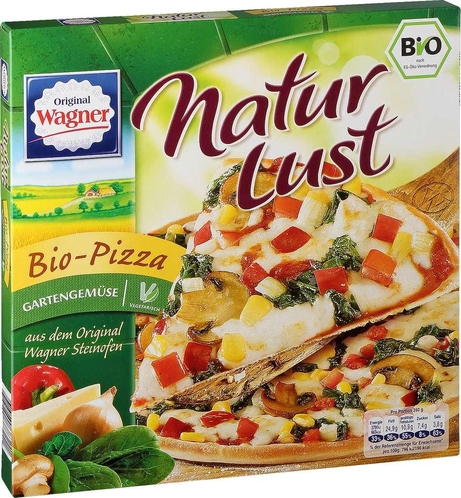 Abbildung des Sortimentsartikels Original Wagner Naturlust Bio Pizza Gartengemüse 350g