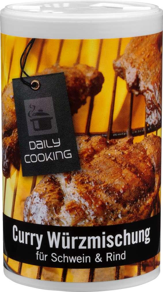 Abbildung des Sortimentsartikels Daily Cooking Gewürzmischung Curry 150g