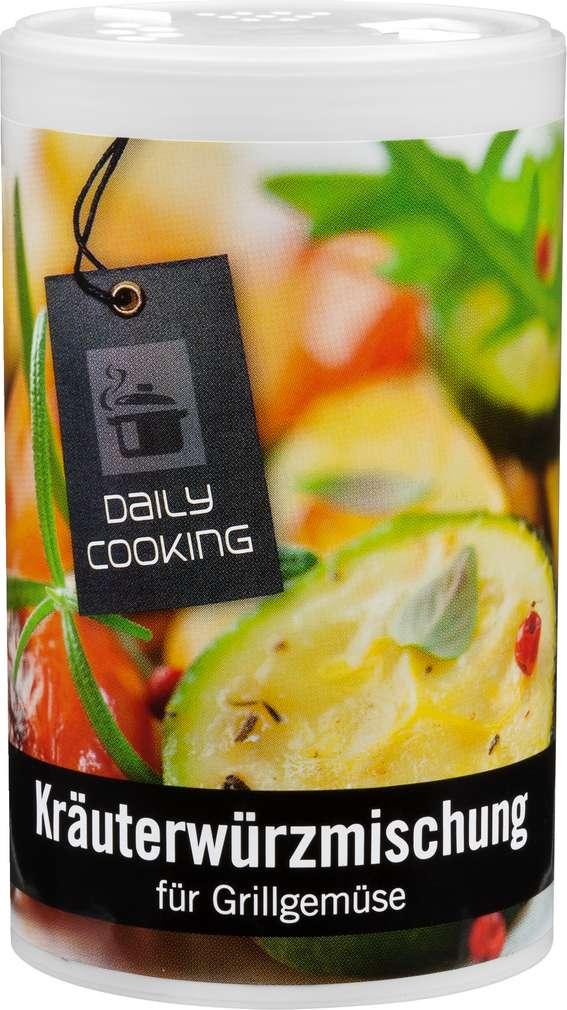 Abbildung des Sortimentsartikels Daily Cooking Kräuterwürzmischung für Grillgemüse 175 g