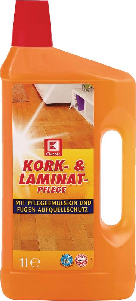 Abbildung des Sortimentsartikels K-Classic Kork- & Laminatpflege 1l