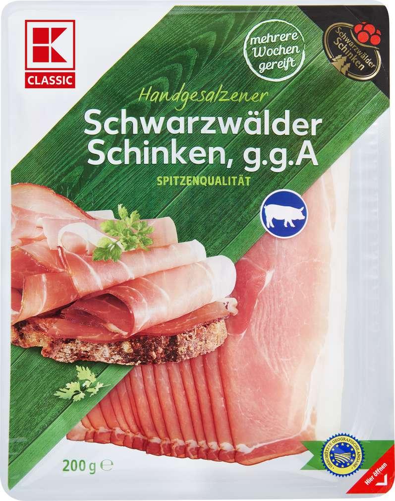 Abbildung des Sortimentsartikels K-Classic Schwarzwälder Schinken 200g