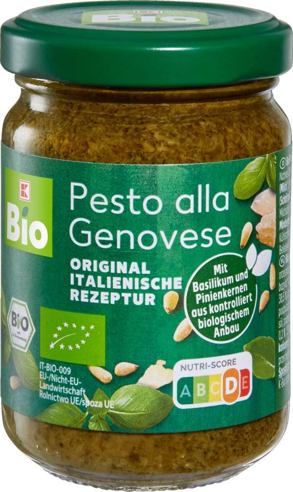 Abbildung des Sortimentsartikels K-Bio Pesto Genovese 120g