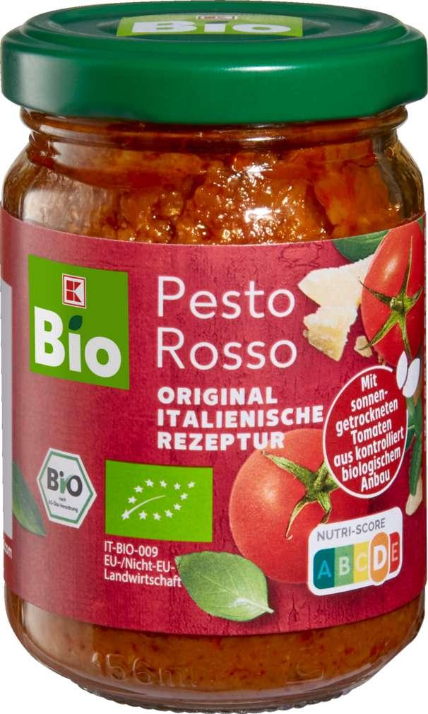 Abbildung des Sortimentsartikels K-Bio Pesto Rosso 120g