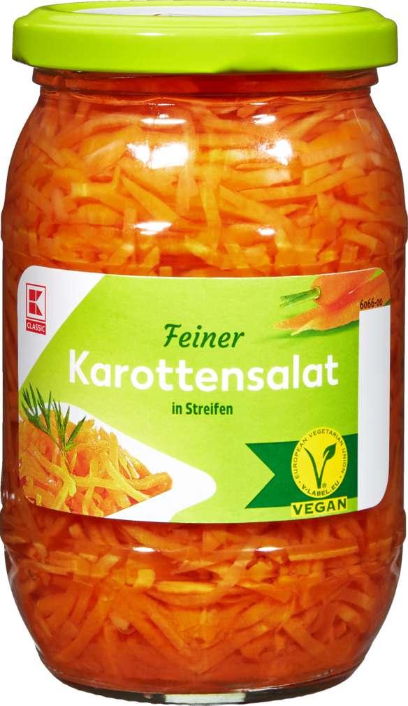 Abbildung des Sortimentsartikels K-Classic Karottensalat in Streifen 330g