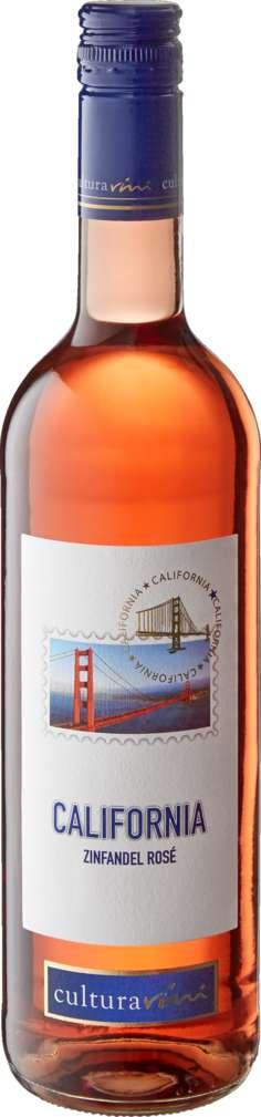 Abbildung des Sortimentsartikels Cultura Vini California Zinfandel Rosé 0,75l