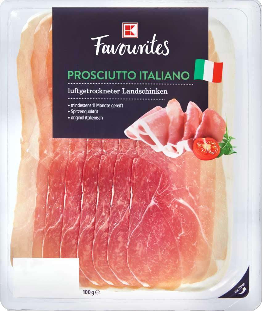 Abbildung des Sortimentsartikels K-Favourites Prosciutto Italiano 100g