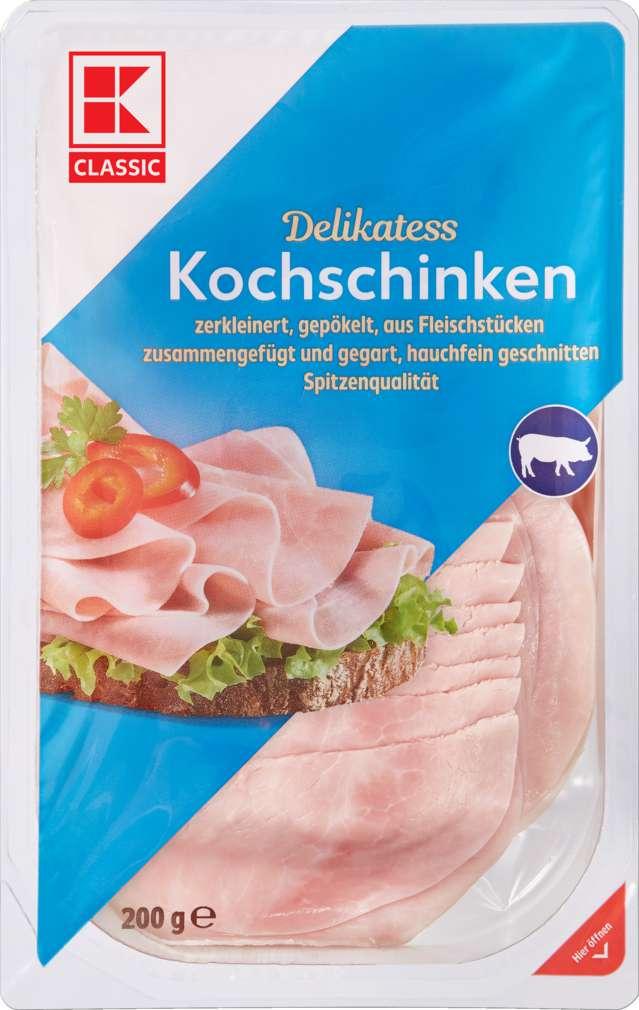 Abbildung des Sortimentsartikels K-Classic Kochschinken Hauchschnitt 200g
