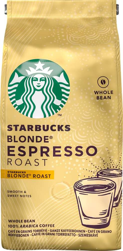 Abbildung des Sortimentsartikels Starbucks® Blonde® Espresso Roast ganze Bohnen 200g