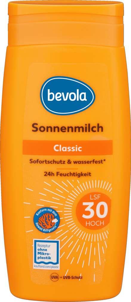 Abbildung des Sortimentsartikels Bevola Sonnenmilch LSF 30 250ml