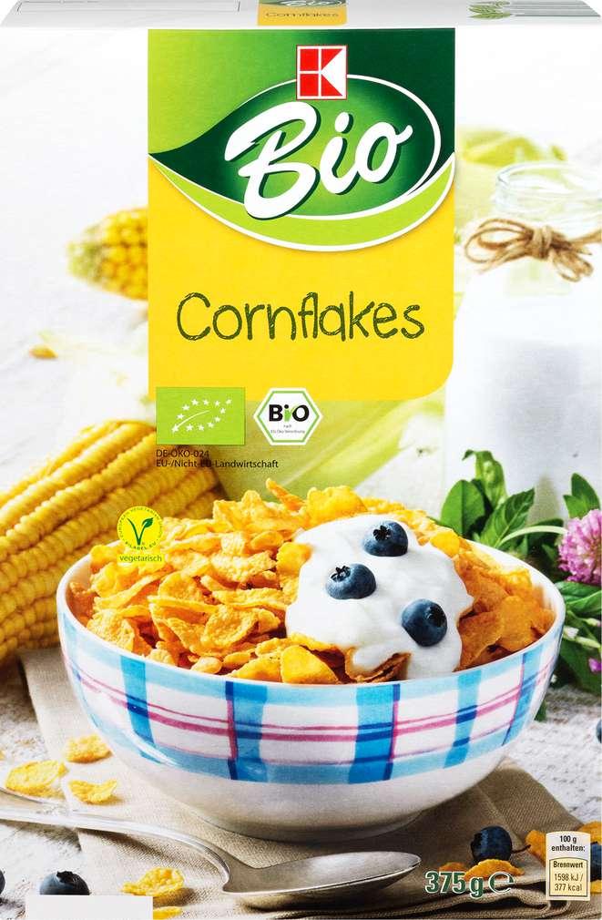 Abbildung des Sortimentsartikels K-Bio Cornflakes 375g