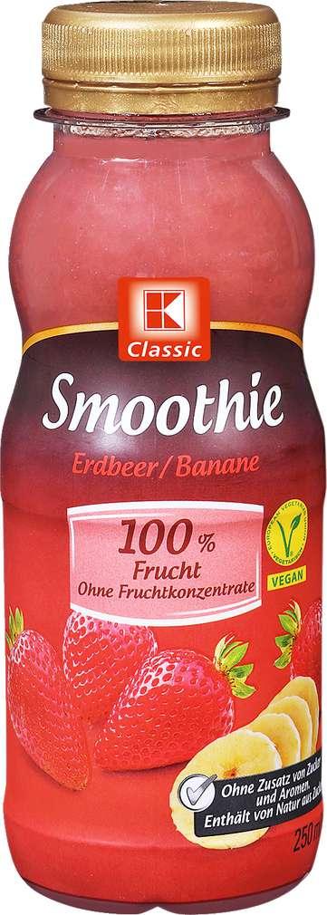 Abbildung des Sortimentsartikels K-Classic Smoothie Erdbeer-Banane 250ml