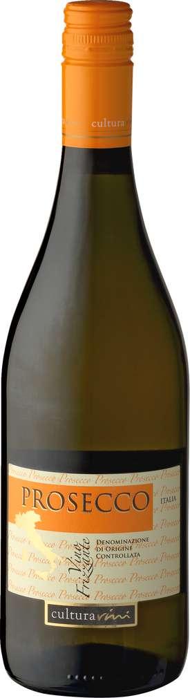 Abbildung des Sortimentsartikels Cultura Vini Prosecco Vino Frizzante 0,75l