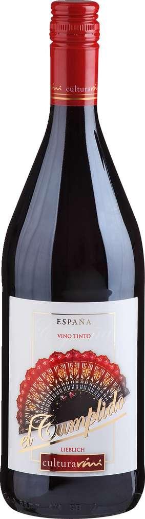 Abbildung des Sortimentsartikels Cultura Vini El Cumplido Vino Tinto 1l