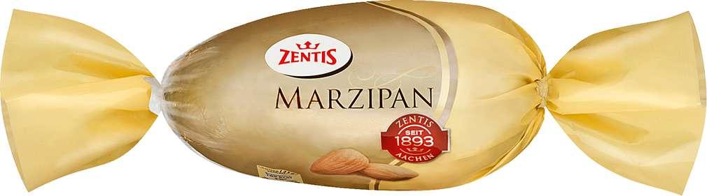 Abbildung des Sortimentsartikels Zentis Marzipan-Ei 50/50 100g