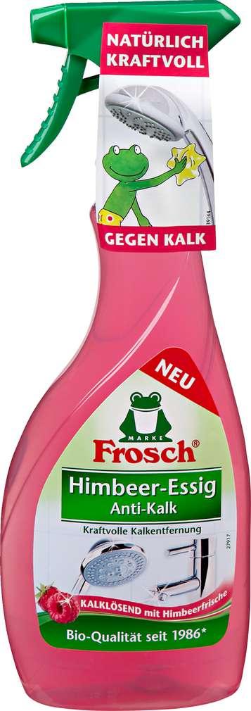Abbildung des Sortimentsartikels Frosch Himbeer-Essig Anti-Kalk Spray 500ml