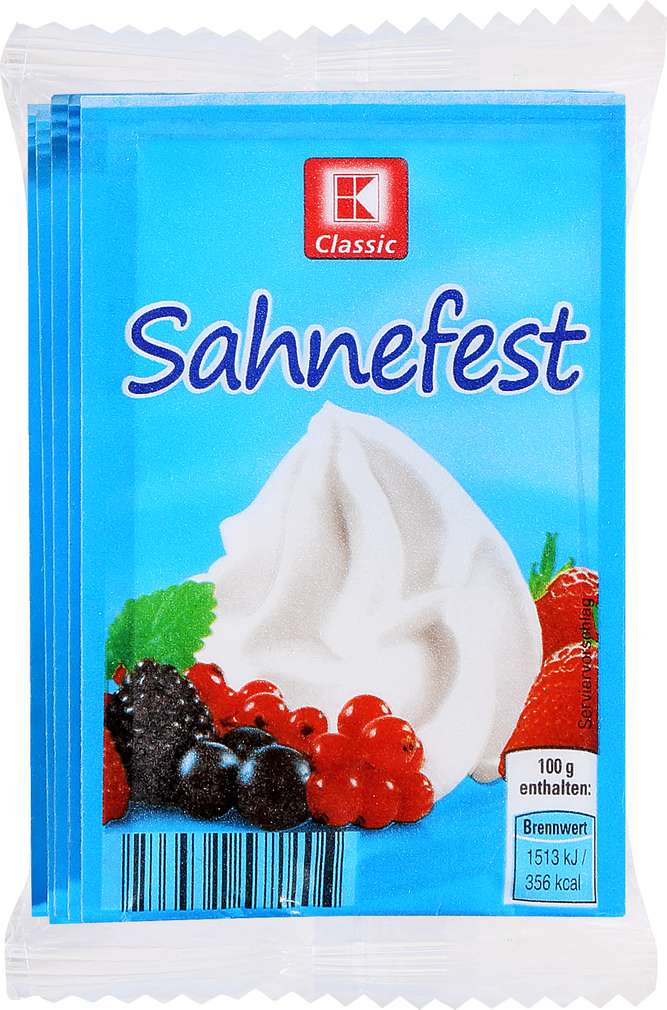 Abbildung des Sortimentsartikels K-Classic Sahnefest 8g