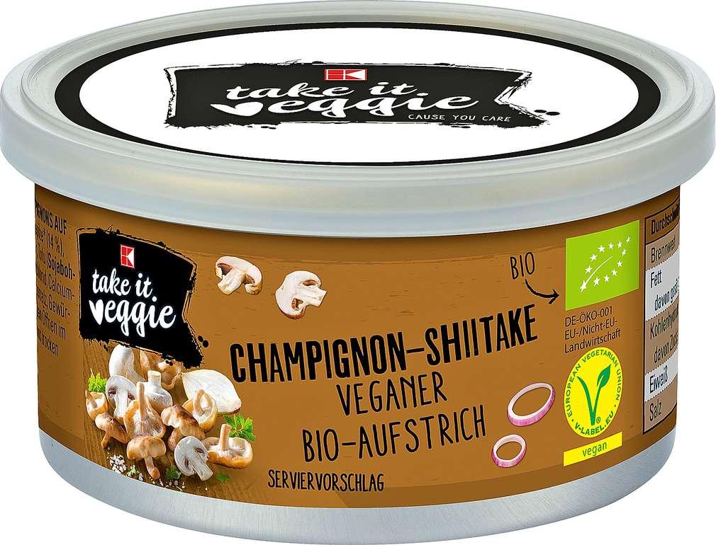 Abbildung des Sortimentsartikels K-Take it Veggie Aufstrich Champignon-Shiitake 125g