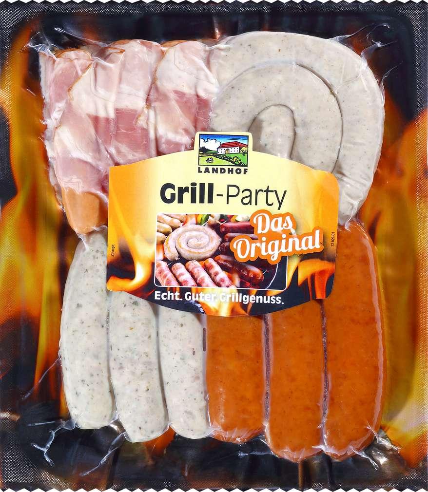 Abbildung des Sortimentsartikels Landhof Grill-Party 450g