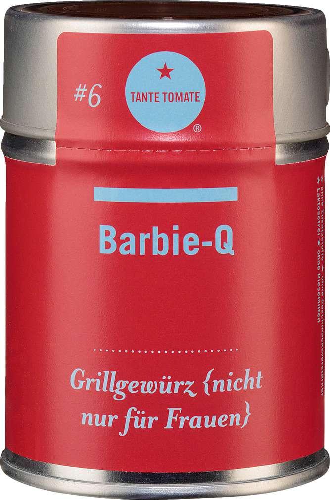 Abbildung des Sortimentsartikels Tante Tomate Barbie-Q - Grillgewürz (nicht nur für Frauen) 60g