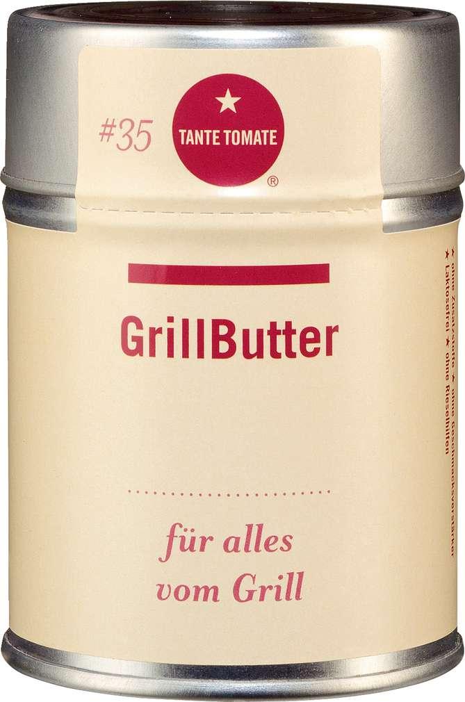 Abbildung des Sortimentsartikels Tante Tomate Grillbutter - für alles vom Grill 60g