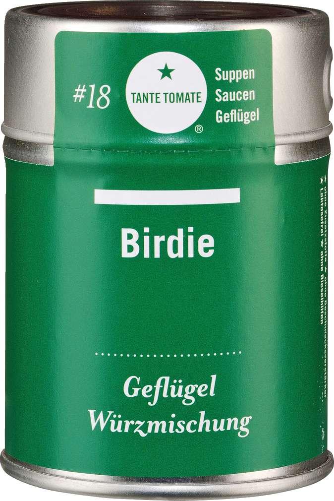 Abbildung des Sortimentsartikels Tante Tomate Birdie - Geflügel Würzmischung 45g