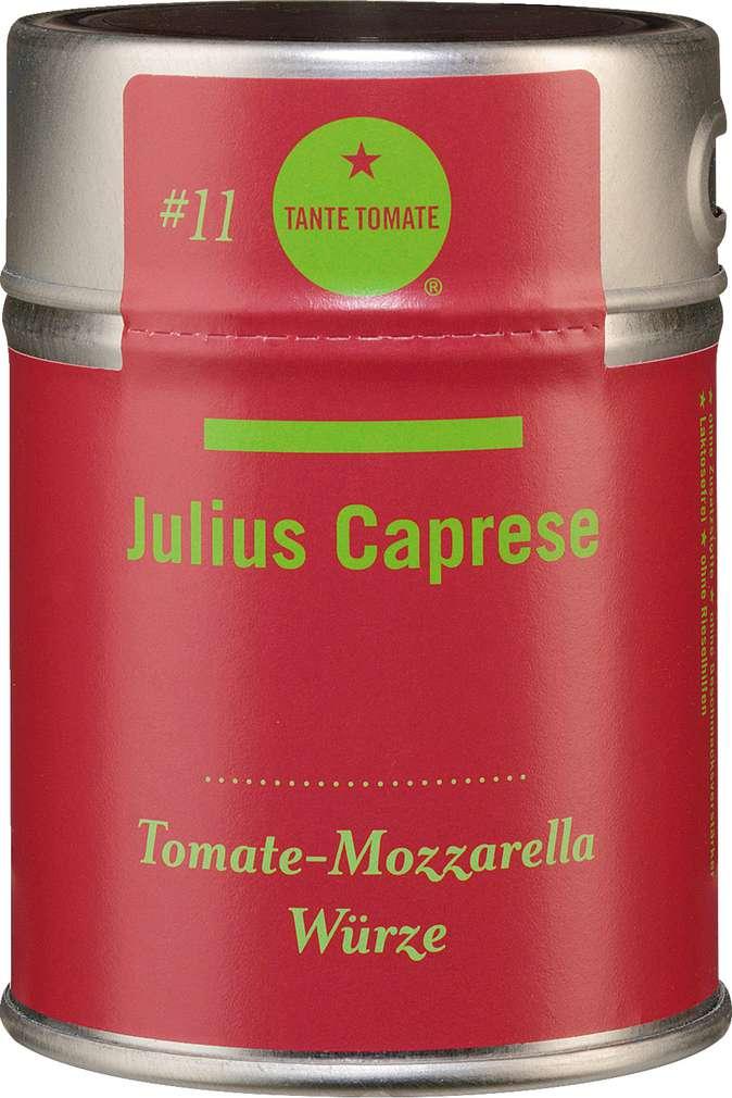 Abbildung des Sortimentsartikels Tante Tomate Julius Caprese - Tomaten-Mozzarella Würze 45g