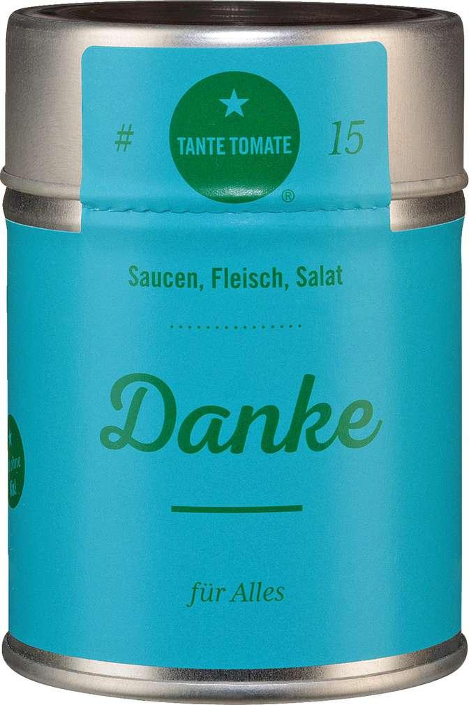 Abbildung des Sortimentsartikels Tante Tomate Danke - für Alles 35g