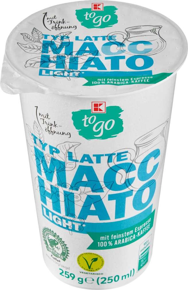 Abbildung des Sortimentsartikels K-To Go Latte Macchiato light 250g