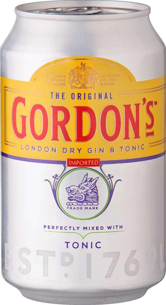 Abbildung des Sortimentsartikels Gordon's Gin & Tonic Water 0,33l