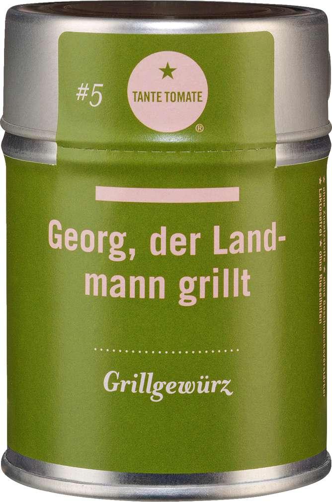 Abbildung des Sortimentsartikels Tante Tomate Georg, der Landmann grillt - Grillgewürz 60g