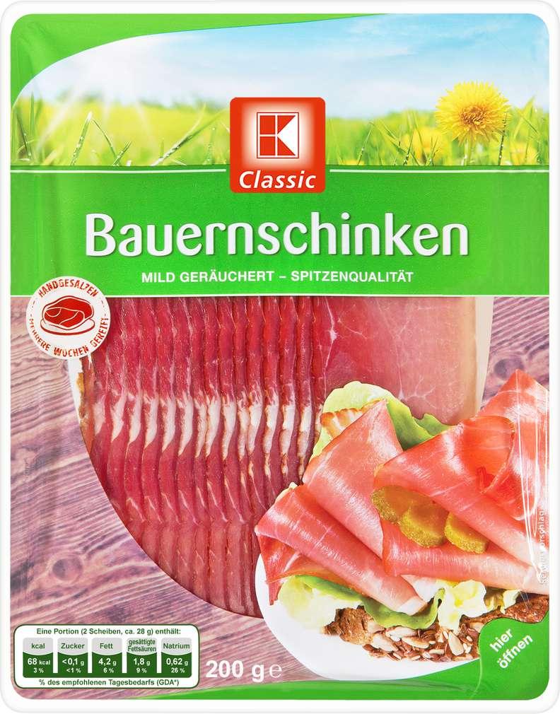 Abbildung des Sortimentsartikels K-Classic Bauernschinken 200g