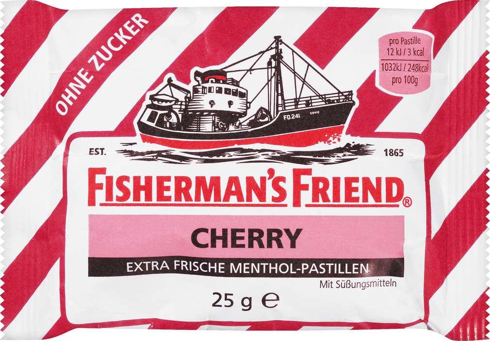Abbildung des Sortimentsartikels Fisherman´s Friend Cherry 25g