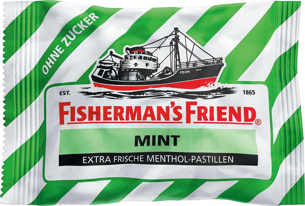 Abbildung des Sortimentsartikels Fisherman´s Friend Mint zuckerfrei 25g