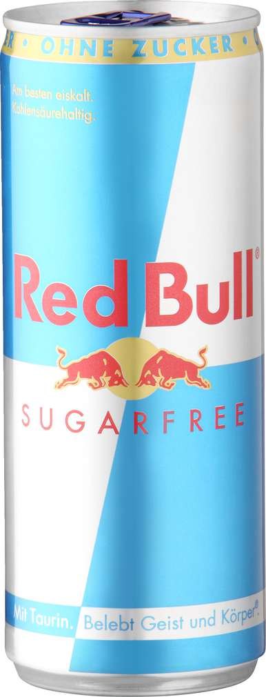 Abbildung des Sortimentsartikels Red Bull Energy Drink Sugarfree 0,25l