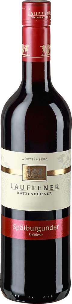 Abbildung des Sortimentsartikels Lauffener Weingärtner Spätburgunder Spätlese 0,75l