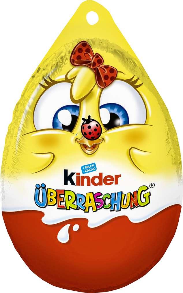 Abbildung des Sortimentsartikels Ferrero Überraschungs-Ei mit Anhänger 20g