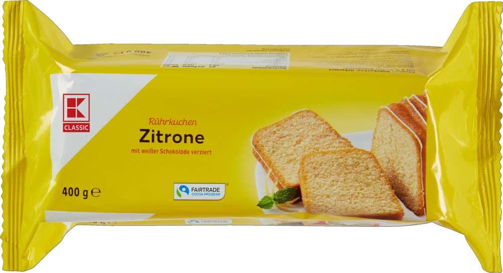 Abbildung des Sortimentsartikels K-Classic Zitrone Rührkuchen 400g
