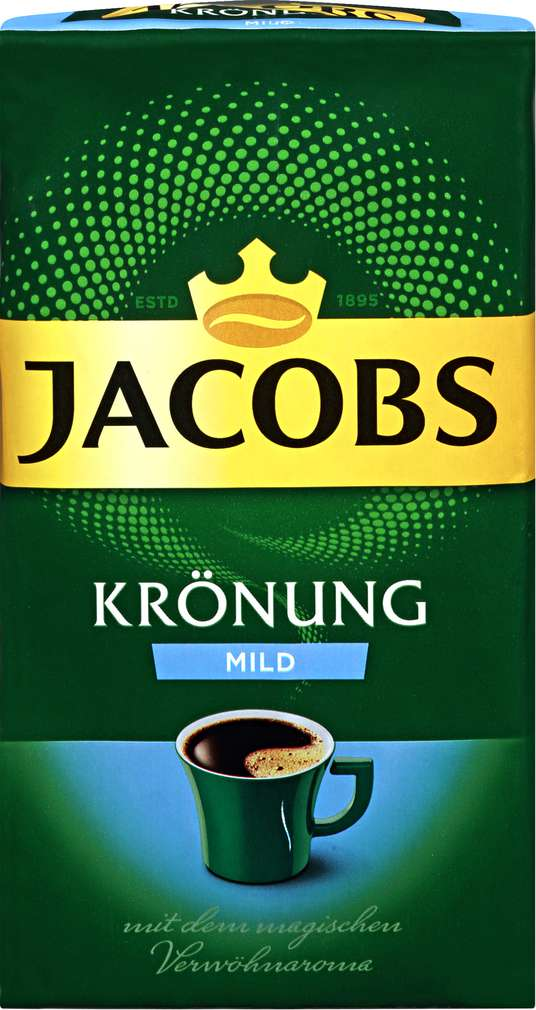 Abbildung des Sortimentsartikels Jacobs Krönung Mild 500g