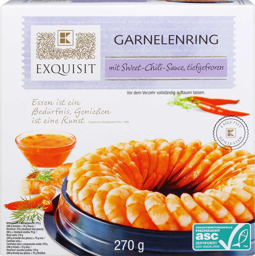 Abbildung des Sortimentsartikels Exquisit Garnelenring mit Sweet-Chili-Sauce 270g
