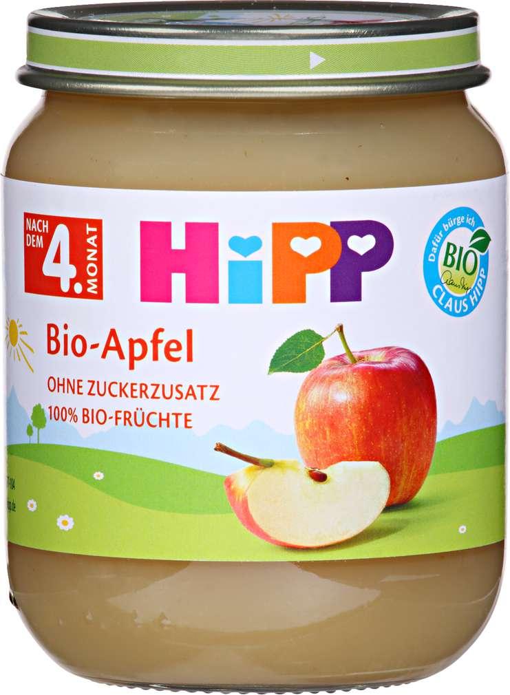Abbildung des Sortimentsartikels Hipp Bio Apfel 125g